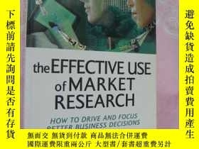 二手書博民逛書店The罕見effective use of market res