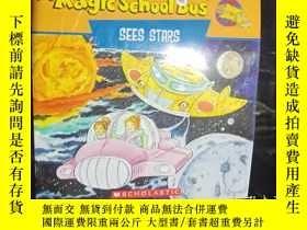 二手書博民逛書店The罕見Magic School Bus--sees star