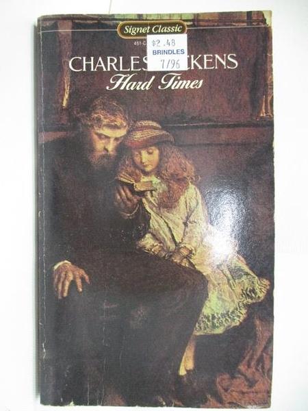 【書寶二手書T7/原文小說_ABP】Hard Times_Charles Dickens