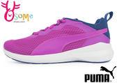 Puma Pacer Evo 慢跑鞋-女款 大童鞋 輕量運動鞋I9564#紫藍◆OSOME奧森童鞋/小朋友