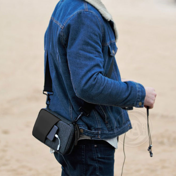 『ART小舖』澳洲 etchr Field Case 隨身收納筆袋 防水附背帶 單入