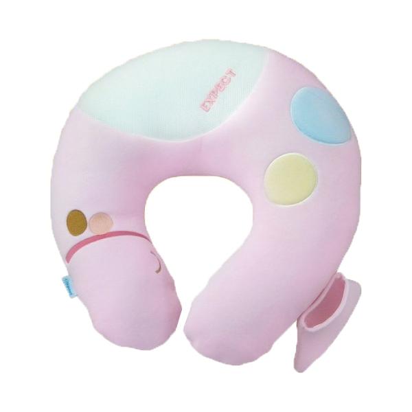 傳佳知寶 EXPECT防水透氣授乳枕 粉紅