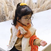 兒童圍巾秋冬寶寶圍脖冬季保暖嬰兒男童女童小孩防風脖套韓版毛絨