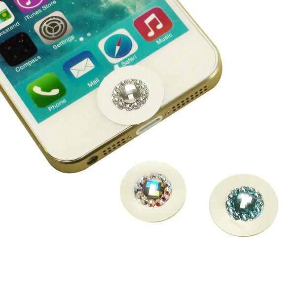 ☆施華洛世奇 閃亮亮水鑽 iPhone/ iPad Home 按鍵貼/貼鍵