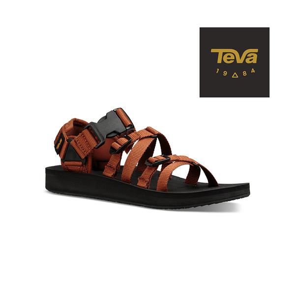丹大戶外用品【TEVA】美國 男款 Alp Premier 機能運動涼鞋 1015200CARM 焦糖色