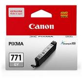 CLI-771GY CANON  原廠灰色墨水匣 MG5770、MG6870、MG7770