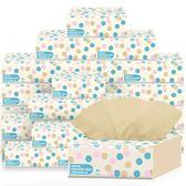 新年大促30包本色抽紙家庭裝嬰兒竹漿衛生紙巾原色面餐巾紙抽整箱 森活雜貨