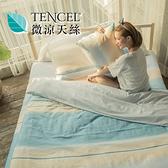 [小日常寢居]#HT005#絲柔親膚奧地利TENCEL天絲5尺雙人床包+枕套三件組(不含被套)台灣製/萊賽爾Lyocell