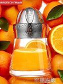 榨汁機 榨汁器手動榨汁機迷你家用水果小型榨汁杯德國便攜玻璃榨汁機 芊墨左岸LX