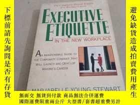 二手書博民逛書店EXECUTIVE罕見ETIQUETTE IN THE NEW WORKPLACEY283241 EXECUT