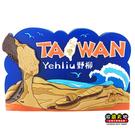 【收藏天地】台灣紀念品*玩美新台灣系列-野柳大鐵PVC造型冰箱貼 ∕ 小物 磁鐵 送禮 文創 風景