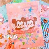 正版 迪士尼系列 櫻花祭 Q版米奇米妮 三層L型文件夾 收納夾 COCOS QQ049