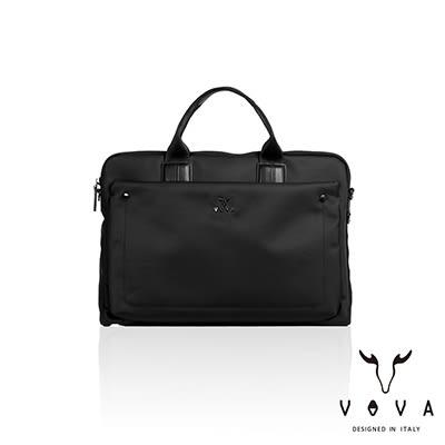 【VOVA】熱那亞系列紳士款公事包(經典黑)VA114S01BK