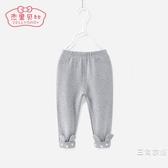 兒童打底褲0-1-6女童單褲小兒童長褲幼兒夏季裝2-3一歲半女寶寶褲子