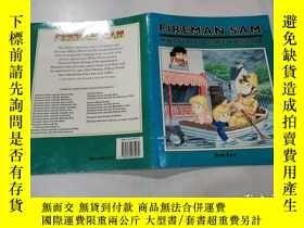 二手書博民逛書店fireman罕見sam and the boat rescue:消防員薩姆和救生艇Y212829
