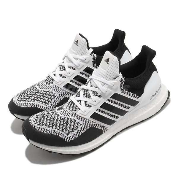 adidas 慢跑鞋 Ultraboost 1.0 DNA 黑 白 男鞋 運動鞋 頂級緩震 運動鞋 【ACS】 H68156