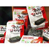 韓國 SAMWON 泡菜口味海苔(4gx3包入)【小三美日】團購 / 零嘴