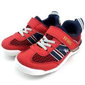 《7+1童鞋》中童 日本 IFME 輕量  機能  運動鞋  C430  紅色