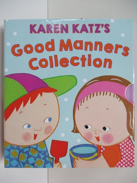 【書寶二手書T4/少年童書_DQP】Karen Katz s Good Manners Collection_4本合售