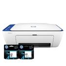 【搭65原廠墨水匣一黑一彩】HP DeskJet 2621 相片噴墨多功能事務機 紳士藍