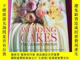二手書博民逛書店wedding罕見cakes the couture colle