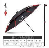 金威釣魚傘釣魚傘大釣傘防雨釣傘姜太公戶外2018年新釣魚傘正品傘QM『摩登大道』