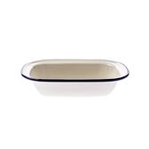 澳洲ENAMEL手工方形烤盤400ML-藍