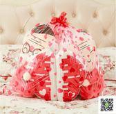 抱枕 創意結婚禮物壓床娃娃一對毛絨玩具公仔白頭偕老雙喜情人節禮物 玫瑰女孩