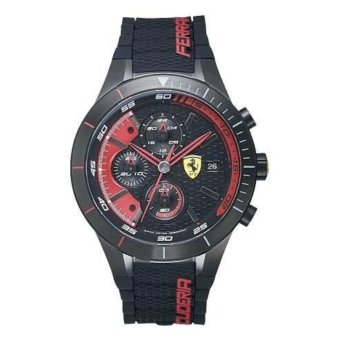 FERRARI Pit Crew速度感時尚腕錶/0830260