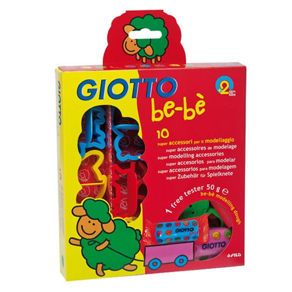 義大利 GIOTTO BEBE寶寶黏土工具組