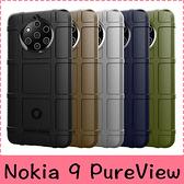【萌萌噠】諾基亞 Nokia 9 PureView  新款護盾鎧甲保護殼 全包防摔氣囊磨砂軟殼 手機殼 手機套