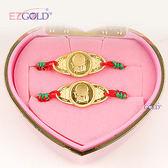 EZGOLD ♥音樂小神童♥ 彌月金飾音樂禮盒 (0.30錢)