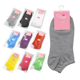 琨蒂絲 細針純棉 船型襪 size:22-24cm, No.LC001