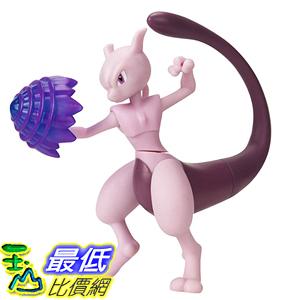 [8美國直購] PoKéMoN 4.5吋 Battle Feature Figure - Mewtwo B07HWTNSPV