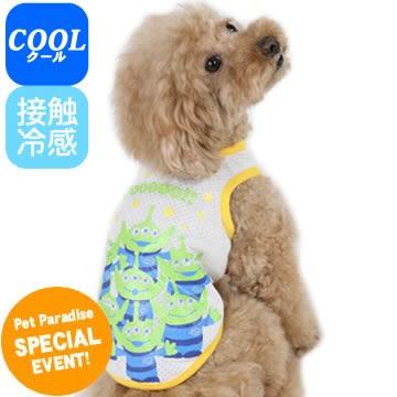 【PET PARADISE 寵物精品】DISNEY 玩具總動員三眼怪接觸涼感上衣 (S) 狗衣服 寵物衣服《SALE》