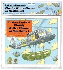【麥克書店】『小熊媽的經典英語繪本』CLOUDY WITH CHANCE OF METABALLS/英文繪本+CD (中譯:食破天驚)