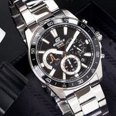 EDIFICE 個性魅力三眼腕錶 EFV-570D-1A CASIO EFV-570D-1AVUDF 熱賣中!