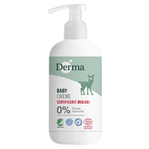 丹麥 Derma 有機滋潤護膚霜家庭號 250ml 潤膚霜 寶寶乳液 6145