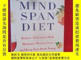 二手書博民逛書店The罕見Mindspan Diet Reduce Alzhei