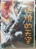 挖寶二手片-Z78-052-正版DVD-日片【燃燒的天空】-長谷川一夫(直購價)