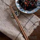 筷子日式無漆無蠟筷子實木餐具...