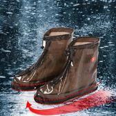 低筒男女士防雨鞋套防滑加厚耐磨