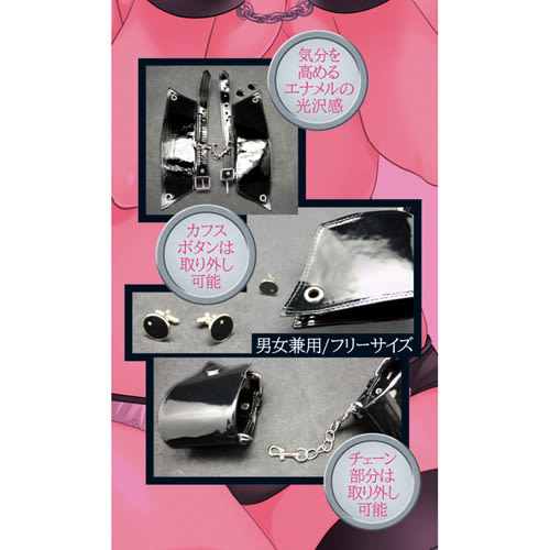 【愛愛雲端】日本Tama Toys*PREMIUMカフスボタン手枷 SM 綑綁 束縛