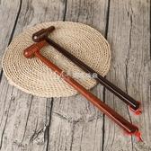 木質按摩錘敲背錘按摩器腰部腿部頸椎敲打棒經絡錘捶背器小錘子 瑪奇多多多