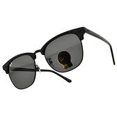 RayBan太陽眼鏡 RB3016F 1305B1 (珍珠黑-灰鏡片) 經典 眉框 墨鏡 # 金橘眼鏡