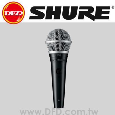 美國 舒爾 SHURE PGA48-XLR 心形動圈人聲麥克風 公司貨 PGA48