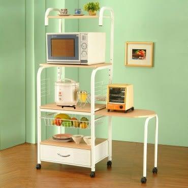 《C&B》知多家多用途四段電器置物架(附側桌)