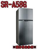 【SAMPO 聲寶】580L定頻雙門冰箱 SR-A58G(K3)