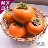 沁甜果園SSN 高山甜柿7A禮盒(6粒裝) E00900004【免運直出】