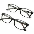 平光眼鏡 百搭素面粗框 9065